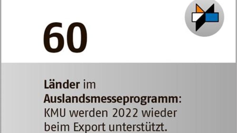 Messen sind Fixstern im Marketing – Auslandsmesseprogramm 2022